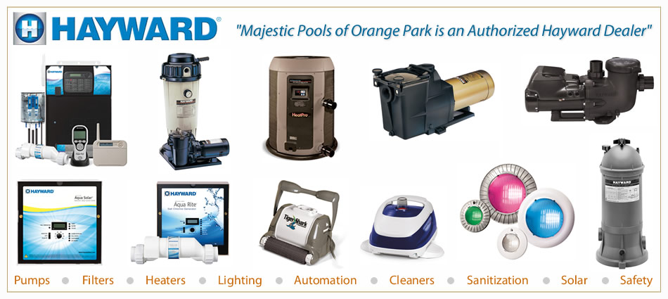 The best pool pumps, lights, heaters, solar, cheap prices and discount equipment in Orlando FL and Winter Park Florida.